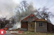 Pożar ul. Na Załęczu