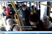 Zdewastował siedzenia w autobusach